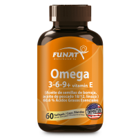 OMEGA 3-6-9 60 Softgels + 2 potes 60 softgels